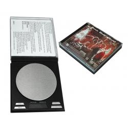 BASCULA CD DOBLE CON FUNDA 0.1-500 GR.