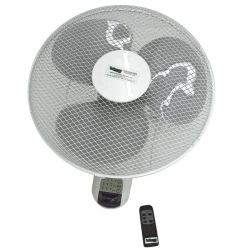 Ventilador de Pared + mando Hurricane